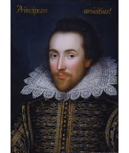 Cobbe Portrait of Shakespeare, 1610