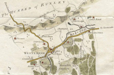 The River Darent in 1800