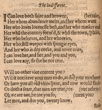 """The Indifferent"" as printed in Poems by John Donne, 1633"