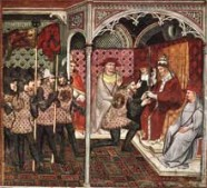 Medieval Pope